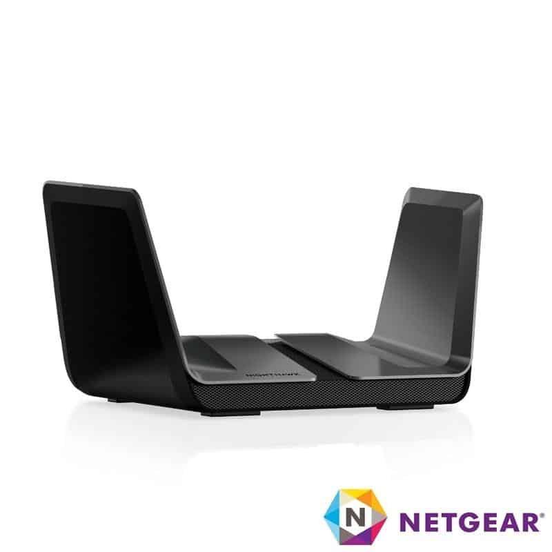【NETGEAR】NETGEAR RAX80 夜鷹 AX6000 8串流 WiFi 6 路由器