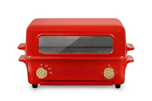 【NICONICO】掀蓋燒烤式 蒸氣烤箱 NI-S805