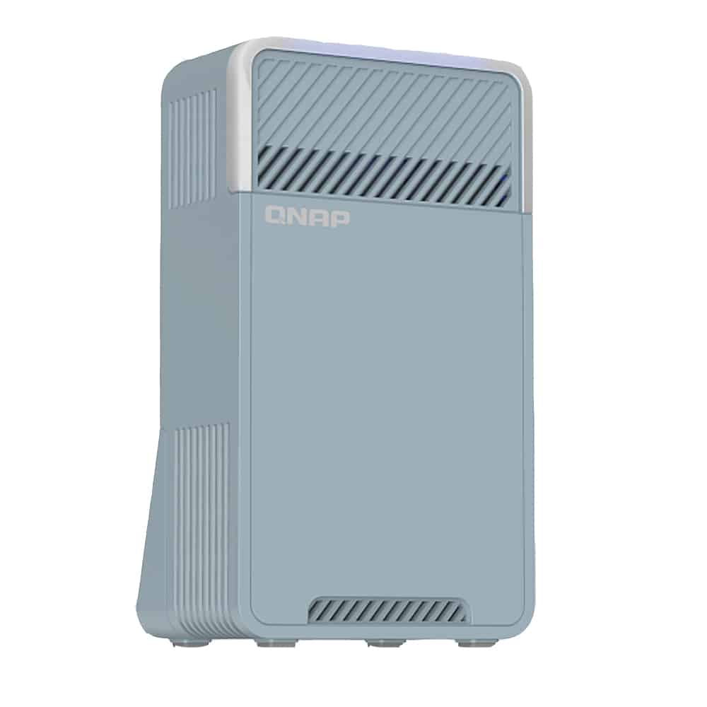 【QNAP 威聯通】新世代三頻 Mesh Wi-Fi SD-WAN 路由器 Qmiro-201W