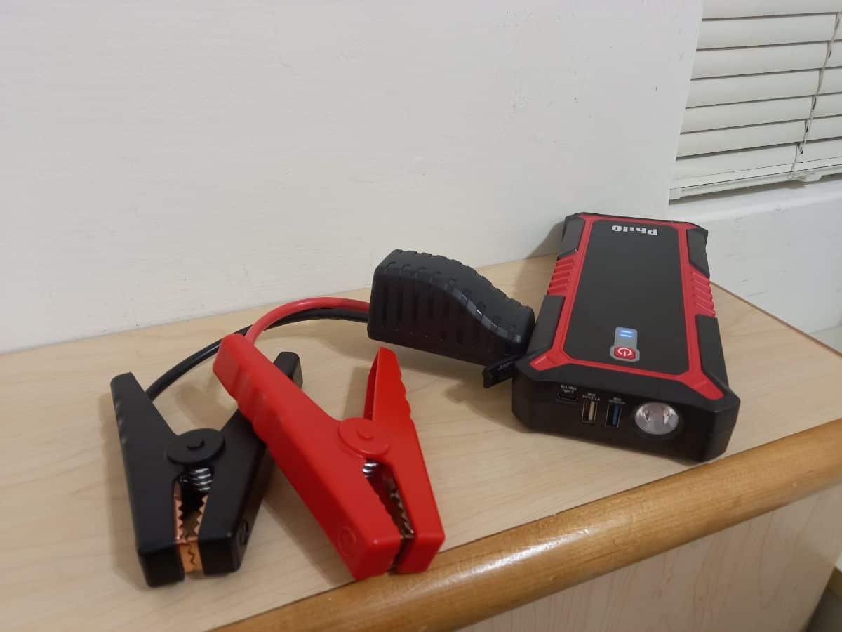 飛樂救車行動電源-電源主機、電瓶夾