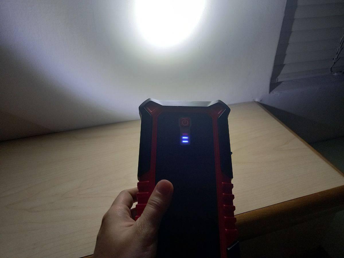 LED 緊急照明實況