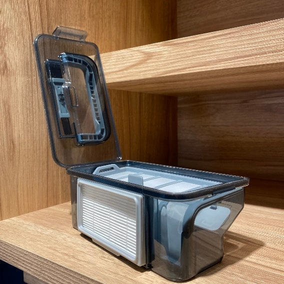 Anqueen安晴掃地機器人-集層盒方便打開