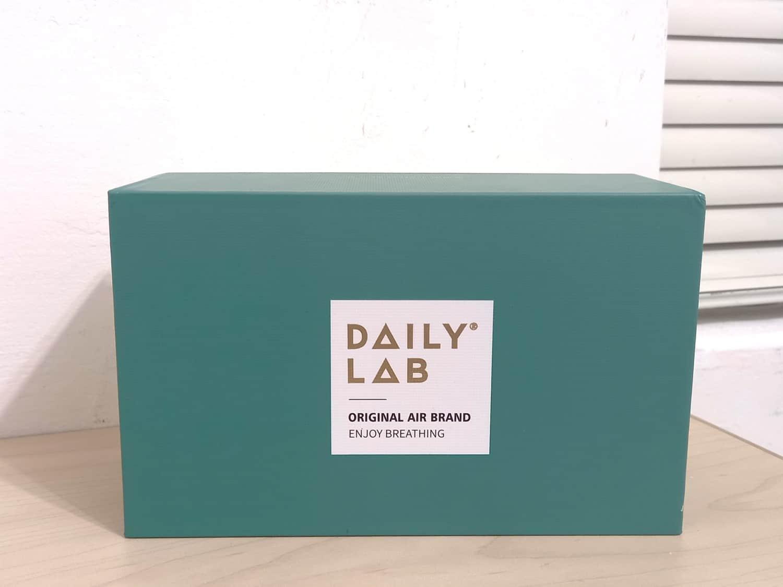 Daily Lab 車用香氛小金條-產品外盒