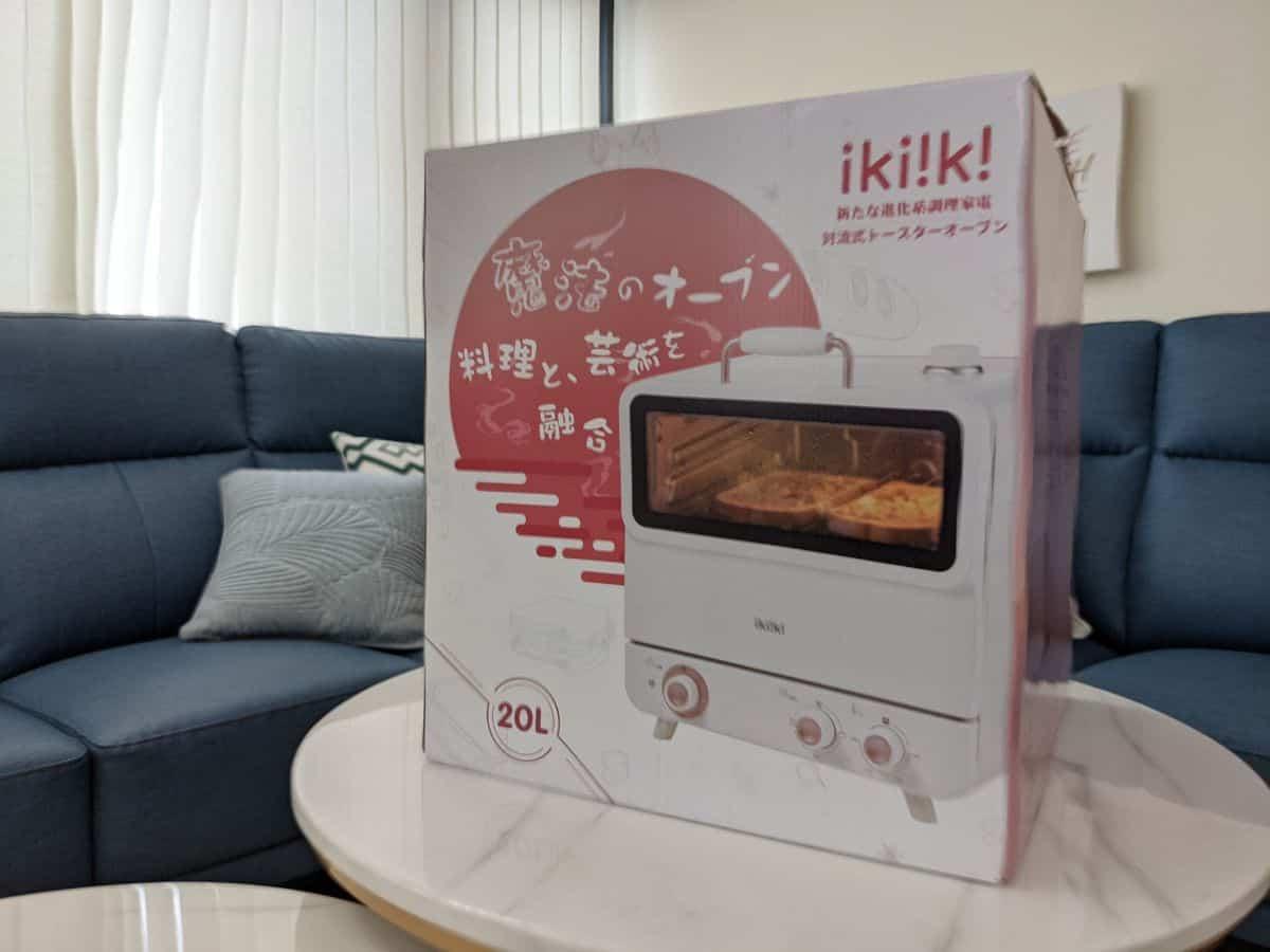 伊崎旋風蒸氣烤箱外箱正面