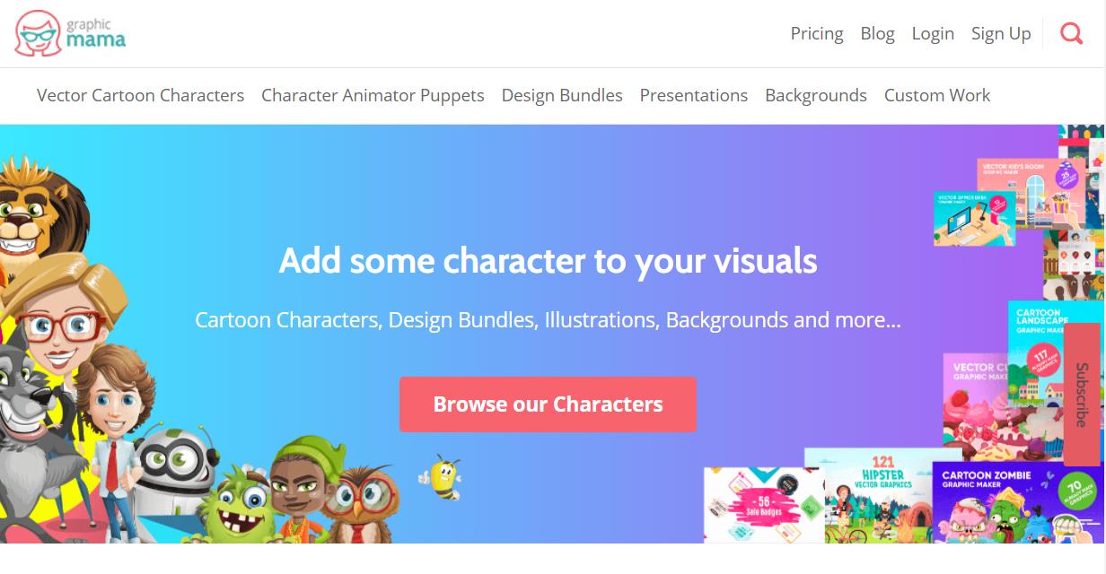 Graphic Mama 教育 PPT 模板