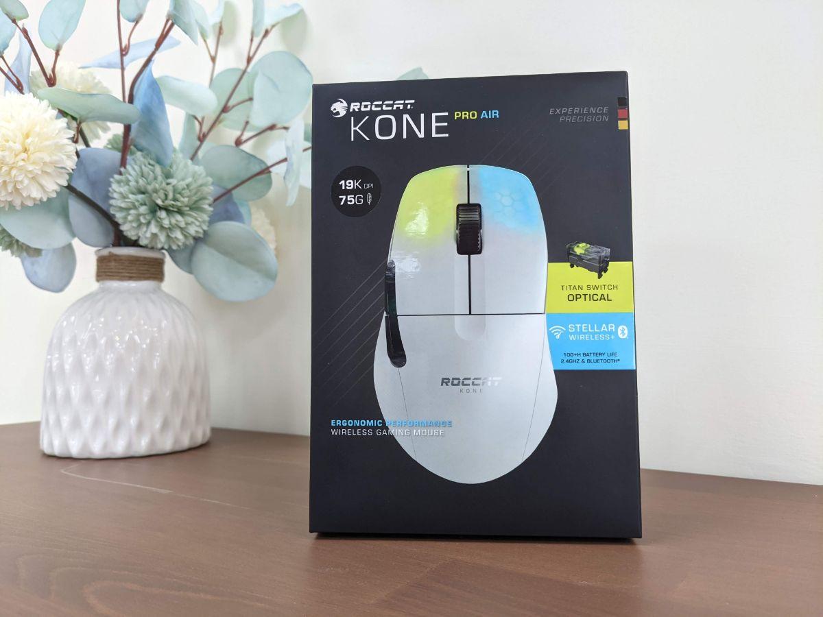 冰豹 ROCCAT KONE Pro Air 滑鼠包裝