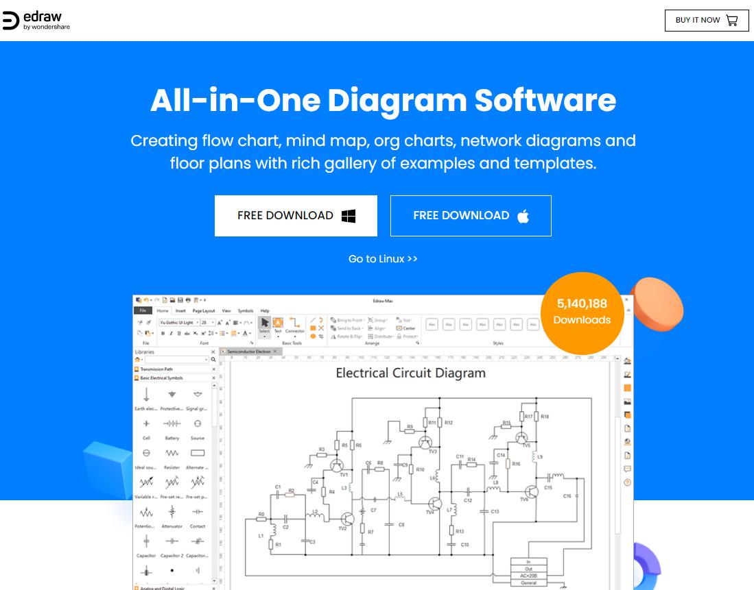 SmartDraw 心智圖軟體