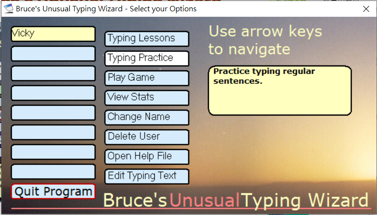 Bruce's Unusual Typing Wizard 圖2