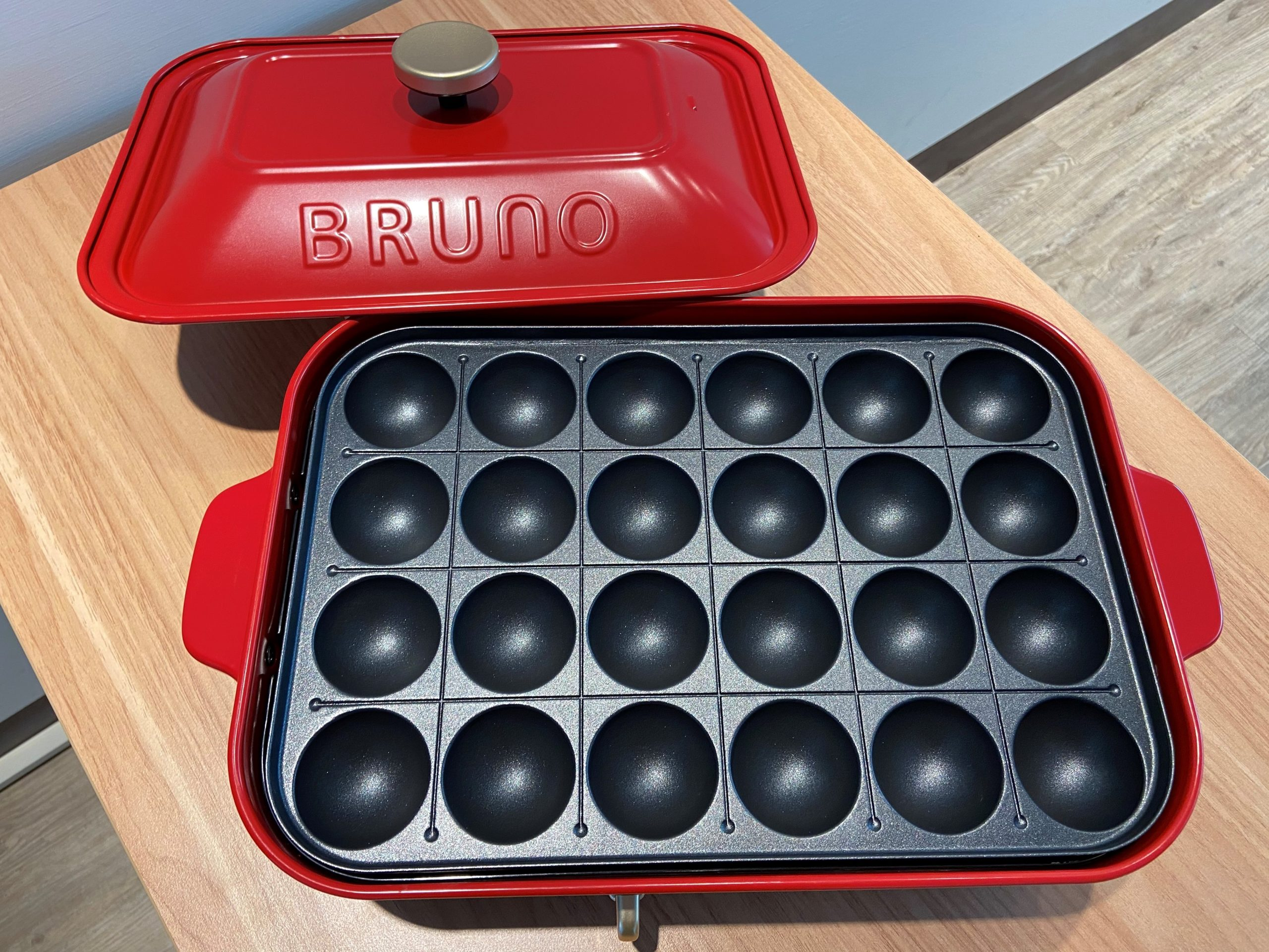 日本 BRUNO 電烤盤-章魚燒烤盤