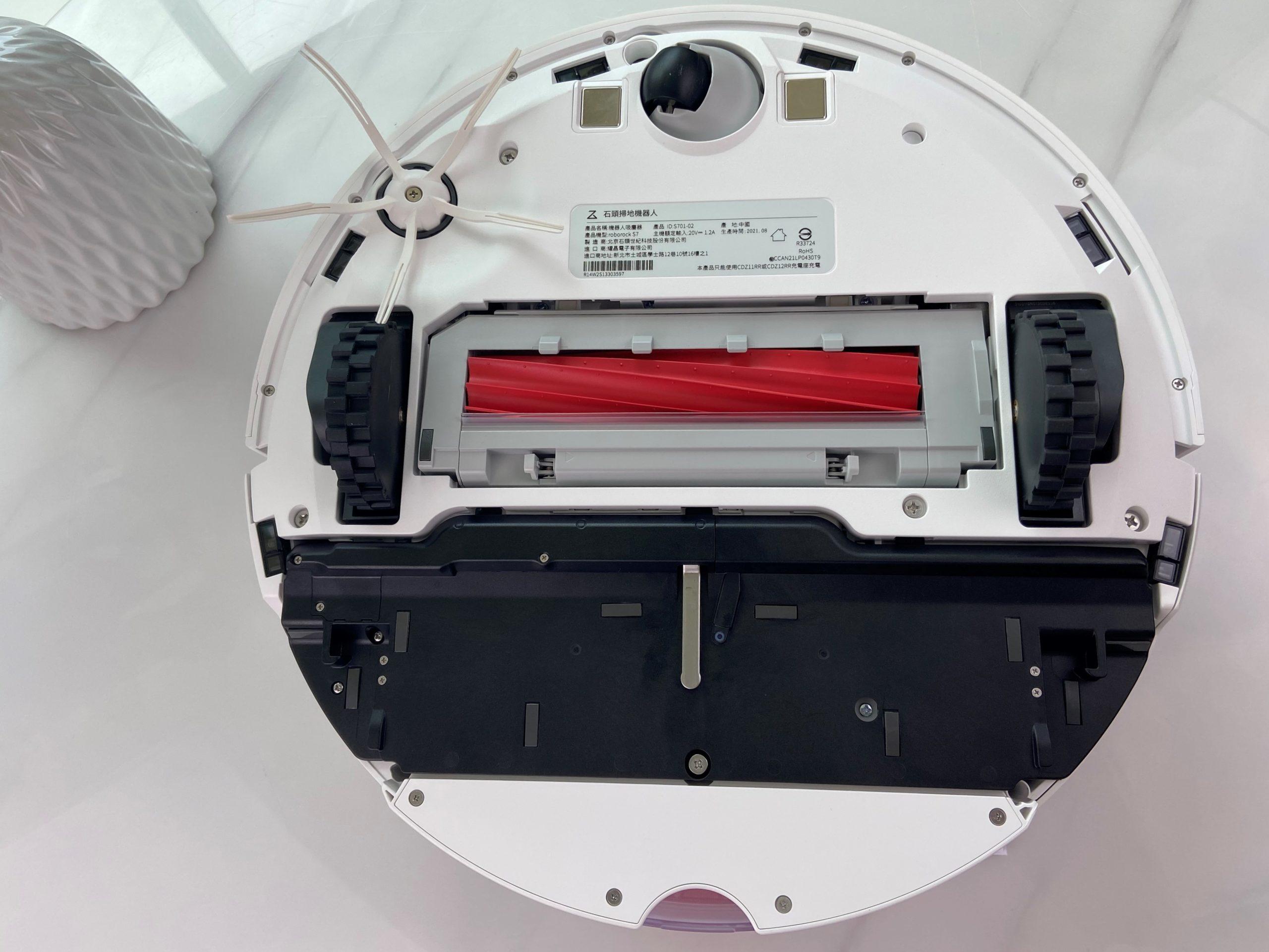 Roborock S7 石頭掃拖機器人 內部構造
