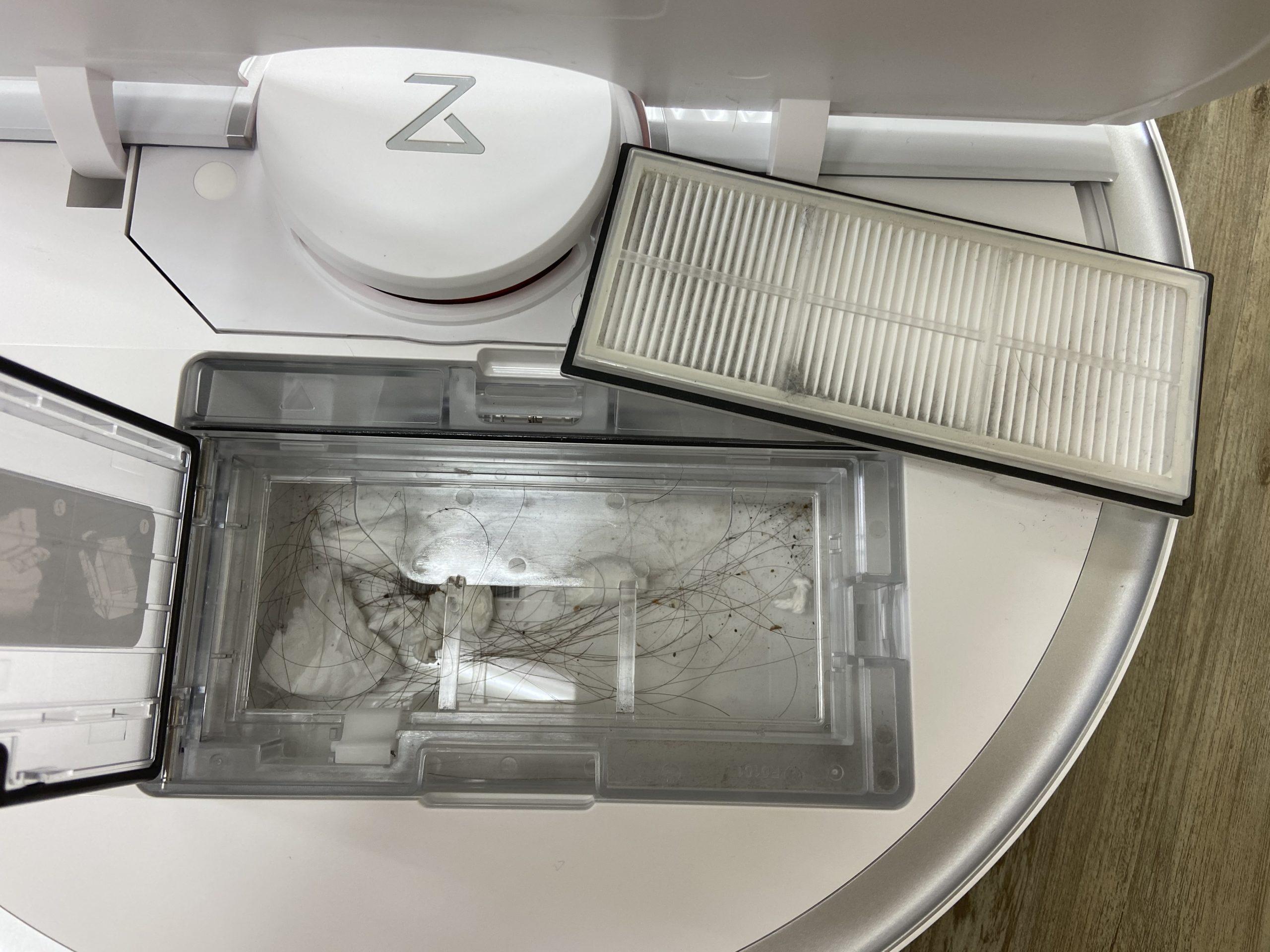 Roborock S7 石頭掃拖機器人 實測塵盒